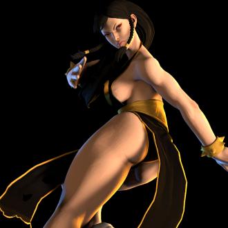 Thumbnail image for Chun-Li (Black & Gold Outfit)