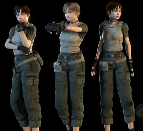 Thumbnail image for Rebecca Chambers 2016 (Resident Evil 5)