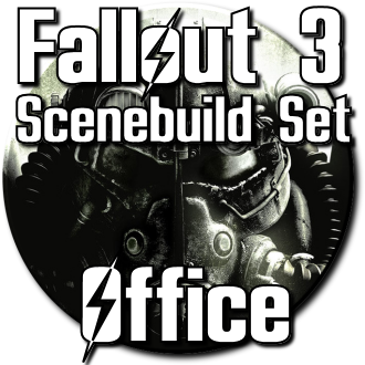 Thumbnail image for Fallout 3 Scenebuild Sets - Office [330 models]