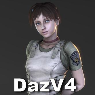 Thumbnail image for Rebecca Chambers (Resident Evil 0) [DazV4 Update]