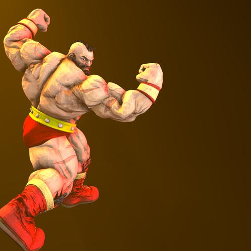 Thumbnail image for Street Fighter (IV + V) - Zangief