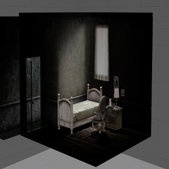 Thumbnail image for Silent hill 2 - Mary Bedroom