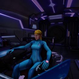 Metroid Ship
