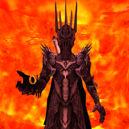 Sauron and The One Ring