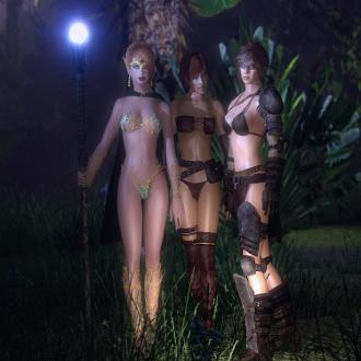 Thumbnail image for Lilith, Elidin And Elena For GMod and SFM