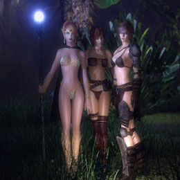 Lilith, Elidin And Elena For GMod and SFM