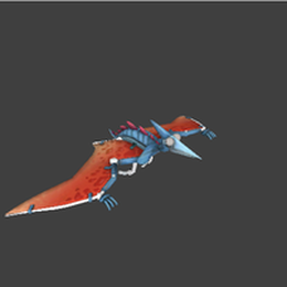 [Fortnite] Pyterodactyl Glider Model