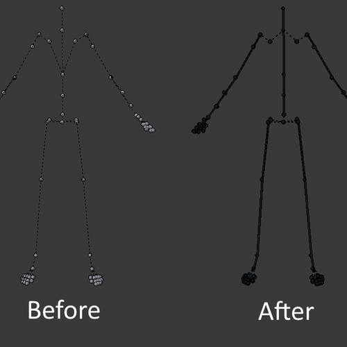 Thumbnail image for SFM to Blender skeleton script (Updated for 2.81) Now with automatic IK rig generation!