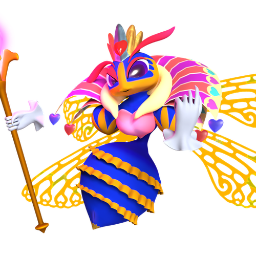 Thumbnail image for Queen Sectonia V1.2 (Kirby)