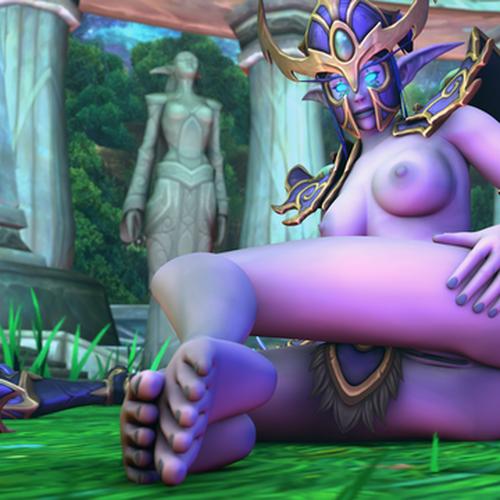 Thumbnail image for [Warcraft] Night Elf Female
