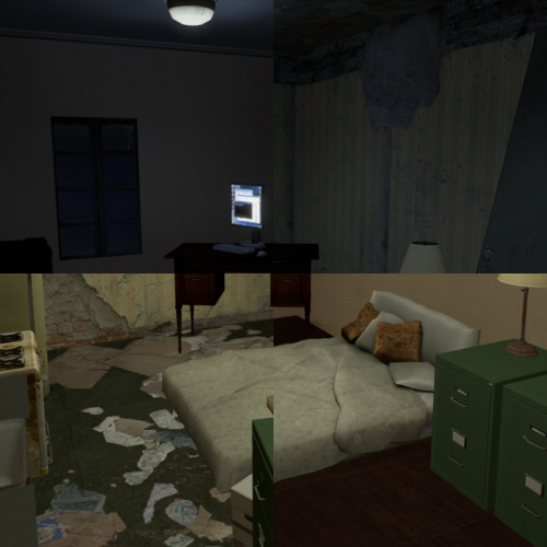 Thumbnail image for SFM Apartment - Trashy/Clean - Light/Dark