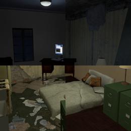 SFM Apartment - Trashy/Clean - Light/Dark