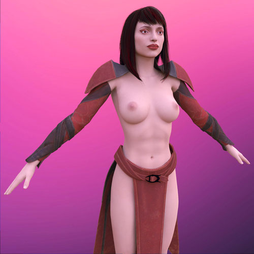 Thumbnail image for Mortal Kombat | Skarlet [Nude, Blender]