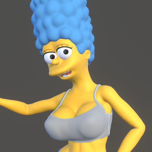 Thumbnail image for Marge Simpson (ver 0.0.1)