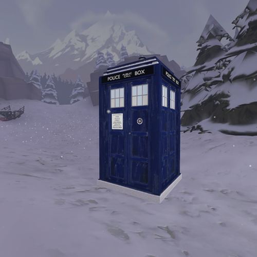 Thumbnail image for Capaldi and Hell Bent TARDIS