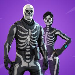 [FORTNITE] Skull Squad Set