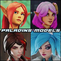 Paladins Models Pack standalone