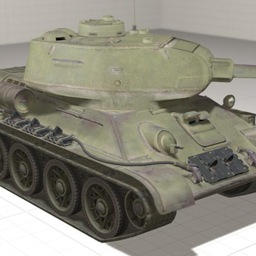 Thumbnail image for T-34-85 (World of Tanks)