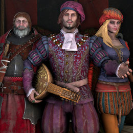 The Witcher 3 Characters