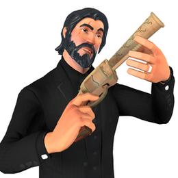 [Fortnite] Revolver Pistol Gun Model