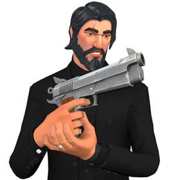 [Fortnite] Vigilante Pistol Gun Model