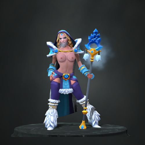 Thumbnail image for Crystal Maiden Topless Mod