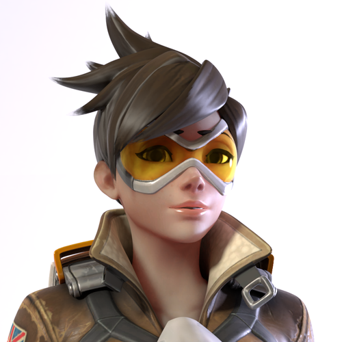 Thumbnail image for [Overwatch] Default Tracer for Blender - Cycles (2.79 needed)