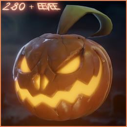 Jack o Lantern - 2.80 + Eevee