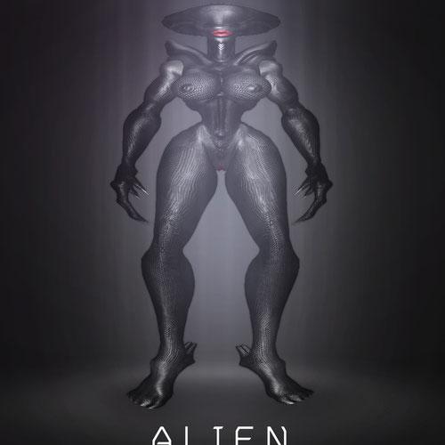 Thumbnail image for Alien Female Model