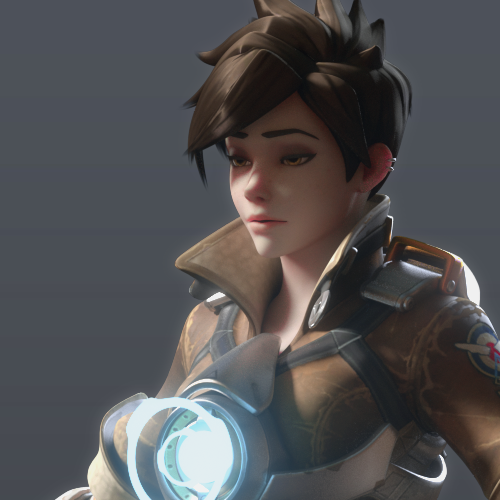 Thumbnail image for [Overwatch] Tracer for Cinema 4D r20 [ Redshift 3.0.09 ]