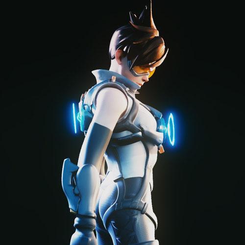 Thumbnail image for [Overwatch] Custom Tracer for Blender