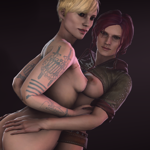 Thumbnail image for Triss Merigold and Ves NUDE