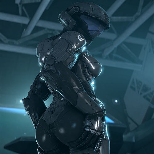 Thumbnail image for Creepy Chimera Lewd Female Tech Suit Halo