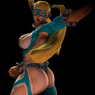 Thumbnail image for Rainbow Mika - Street Fighter V