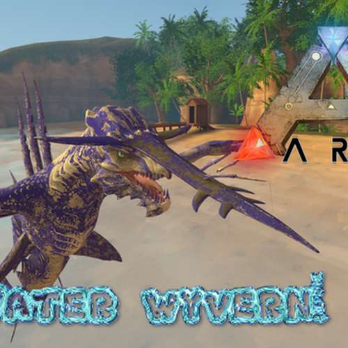 Thumbnail image for ARK Water Wyvern