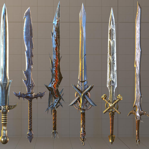 Thumbnail image for Lords of the Fallen SFM Collection part 2 Weapons A