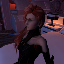 Vanille Mass Effect Outfit