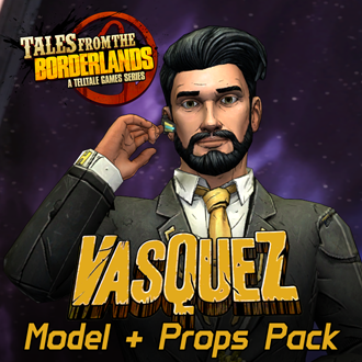 Thumbnail image for Tales from the Borderlands - Vasquez Model & Props Pack