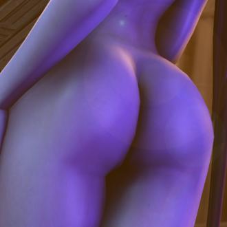Thumbnail image for Widowbutt (Nude Widowmaker) - Overwatch
