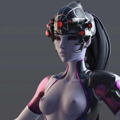 Thumbnail image for [Overwatch] Widowmaker Spider for Cinema 4D r20 [ Redshift 3.0.08 ]