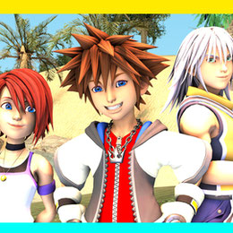 Kingdom Hearts 3 Young Destiny Island Trio