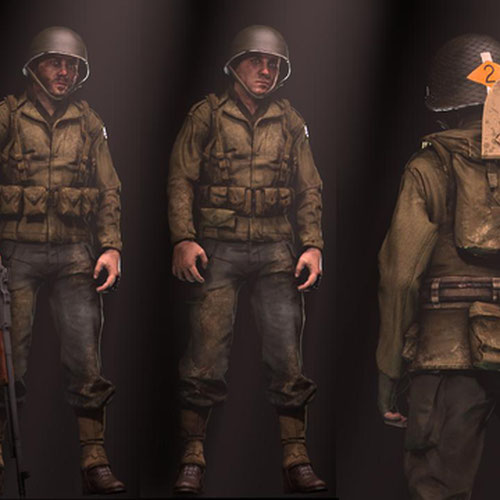 Thumbnail image for WW2 U.S Army Rangers