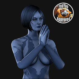 Cortana (Halo 4) Healthy Edit
