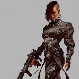 Deus Ex / Yelena Federova