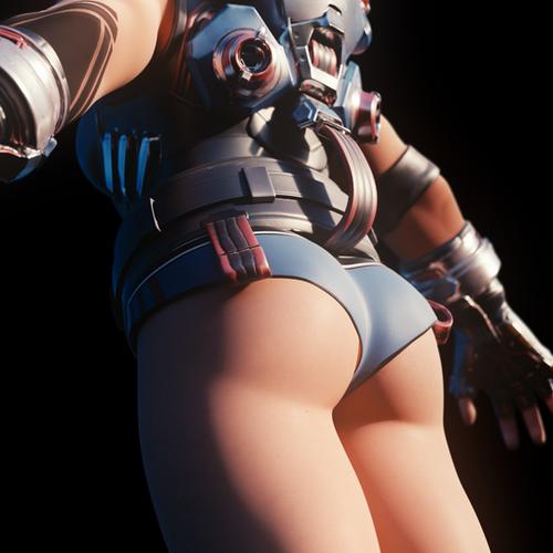 Thumbnail image for [Overwatch] Lewd Zarya for Blender - BETA