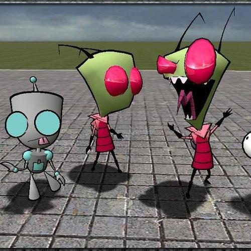 Thumbnail image for Invader Zim models