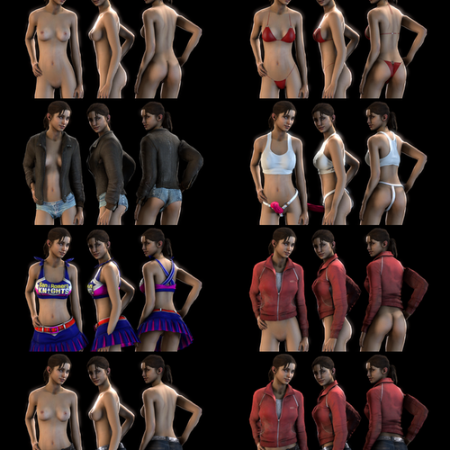 Thumbnail image for Zoey - Nude and Bodygrouped