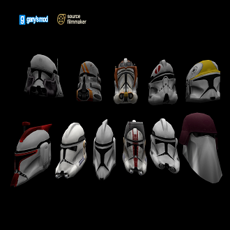 Thumbnail image for Clone Troopers helmets