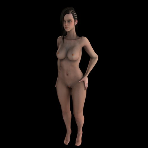 Thumbnail image for Black Desert Female Nude