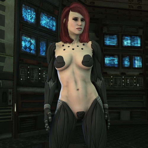 Thumbnail image for Deus Ex: Nude Female with Augmentations